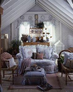 quiet getaway | attic bedroom- a quiet little getaway | insite home...