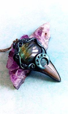 Statement Ketten - Mermaid Halskette - ein Designerstück von FafnirsTreasures bei DaWanda
