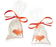Handmade fish in a bag soap. Cute favor for a kids birthday party:)