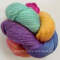 Simply Socks Yarn Company - LL SM Multi Childs Play, $26.00 **with outlast**(http://www.simplysockyarn.com/ll-sm-multi-childs-play/)