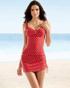Captiva Precious Dot Tropical Sea Swim Tankini Top #SomaSweepstakes