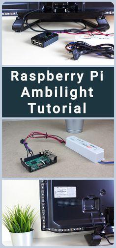 Raspberry Pi Projekt - DIY Ambilight mit dem Raspberry Pi 3 | Raspberry Pi Projects | Raspberry Pi Idden zum nachmachen. Auf meinem Kanal findet ihr weitere Schritt für Schritt Anleitungen - Technik Kanal auf Youtube | DigitaleWelt - Raspberry Pi 3 Tutorial