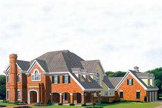 Plan No: W19227GT Style: Traditional, Southern Total Living Area: 4,872 sq. ft. Main Flr.: 2,817 sq. ft. 2nd Flr: 2,055 sq. ft. Attached Garage: 3 Car, 718 sq. ft. Bedrooms: 4/5/6 Full Bathrooms: 5+ Half Bathrooms: 2
