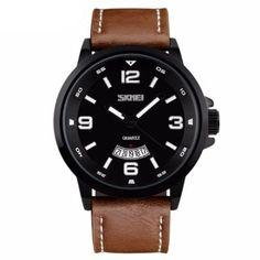Relógio Skmei Analógico 9115 MarromPara realçar o look com beleza e praticidade, a dica é investir em acessórios modernos e em total…