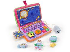 Amazon.com : Baby's First Laptop Computer Playset : Laptops For Babies : Baby
