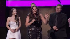 Hillary Scott & The Scott Family Win Best Cont. Christian Music Performance/Song - Hillary Scott & The Scott Family's acceptance speech for Best Contemporary Christian Music Performance/Song at the 59th Annual GRAMMY Awards Premiere Ceremony on Feb. 12, 2017, in Los Angeles.