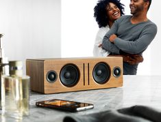 Speaker shopping tips  Does Size Matter? The short answer is, sorta kinda.  If you have a specific physical space you're working with and need a speaker that fits, of course it matters. Smaller options include  Read more --->