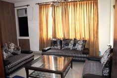 Rental luxury serviced apartments for short or long term for Spaces architects safdarjung