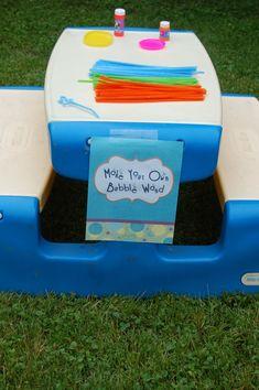 Beth Kruse Custom Creations: bubble party