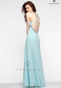 Faviana 6120 at Prom Dress Shop