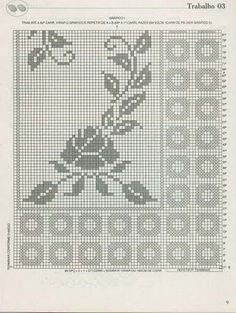 It's a very simple and beautiful floral crochet rug for your floor.
