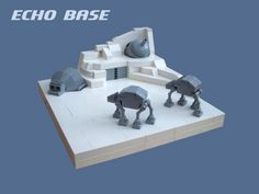 Echo Base in Lego