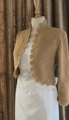 Blue Hand Knit Sweater Knitting Knitted by crochetbutterfly, $85.00