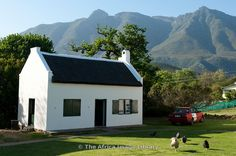 Photos and pictures of: Drosty Museum, Swellendam, Western Cape, South Africa - The Africa Image Library Bahamas House, Provinces Of South Africa, Fishermans Cottage, Cape Dutch, Dutch House, Cape Town South Africa, Building A New Home, Small House Design, Cottage Homes