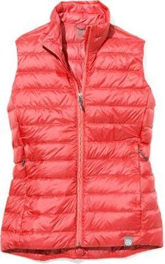 Everyone loves down vests! With down insulation and a weather-resistant nylon exterior, the REI Co-Op Down Vest for women will be a go-to piece for a range of temperatures and activities. You're loved one will want more than one!