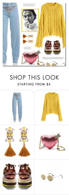 """Fancy Jeans & Sweaters"" by defivirda ❤ liked on Polyvore featuring Y/Project, Gucci and Prada"