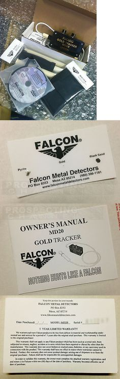 Metal Detectors: Falcon Md20 Metal Detector + Holster And Handle + How 2 Dvd Brand New In Box -> BUY IT NOW ONLY: $257.95 on eBay!