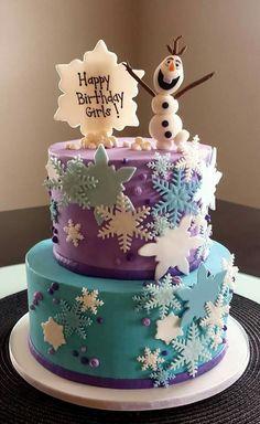Olaf birthday cake – My WordPress Website Anna Frozen Cake, Frozen Doll Cake, Disney Frozen Cake, Disney Frozen Birthday, Olaf Birthday Cake, Frozen Themed Birthday Party, Birthday Cake Girls, Pastel Frozen, 1st Birthday Girl Decorations