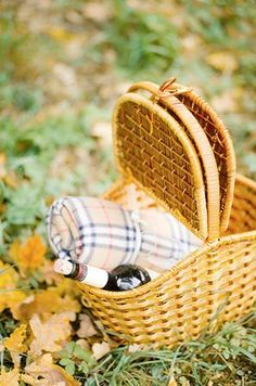 September Simple Pleasure...Enjoy a picnic in the country. Let the ethereal stillness of September seep into your soul.