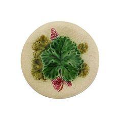 Image of Majolica Grape Wall Plate