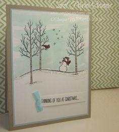 Stampin' Up!,White Christmas,gift card holder,paper crafts,DIY,handmade,homemade