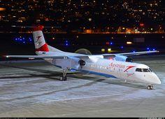 Austrian Airlines (Tyrolean Airways) De Havilland Canada DHC-8-402Q Dash 8  Innsbruck - Kranebitten (INN / LOWI) Austria, February 15, 2014
