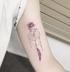 Dream catcher tattoo @ Instagram