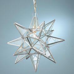 Superior Moravian Star Light - front porch?