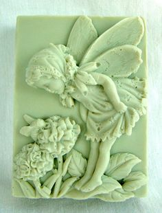 Handmade Honeysuckle Natural Goats Milk Soap