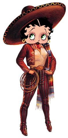*BETTY BOOP - Mexico, South of the Border