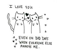I love you (: