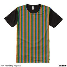 bert and ernie halloween striped costume shirt for bert