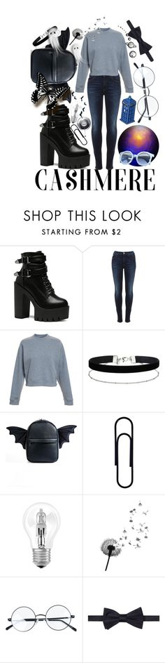 """""""Untitled #111"""" by aysenur-odemis ❤ liked on Polyvore featuring Vivienne Westwood Anglomania, Acne Studios, Miss Selfridge, Current Mood, Osram, Pinko and Tommy Hilfiger"""