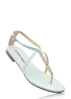 Modne sandały w świeżych kolorach, ze sprzączką. Materiał wierzchni: Imitacja skóry welurowej; Podeszwa wewnętrzna: Imitacja skóry welurowej; Zelówka: Gumka