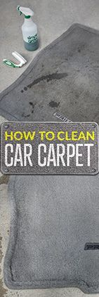 Need help cleaning automotive carpet? Check out this tip from Simple Green. #bathroomcleaningtips