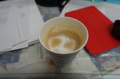 Cafe latte from a convenience store.  Thank you!