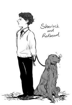 Sherlock and Redbeard fan art - seki0930:  2014.01.29