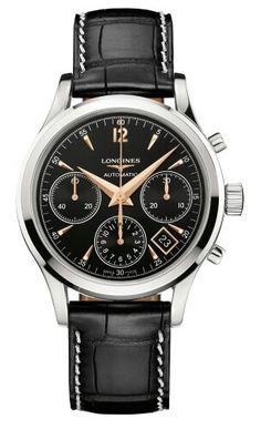 Longines Column Wheel Chronograph #luxurywatch #Longines-swiss Longines Swiss Watchmakers watches #horlogerie @calibrelondon