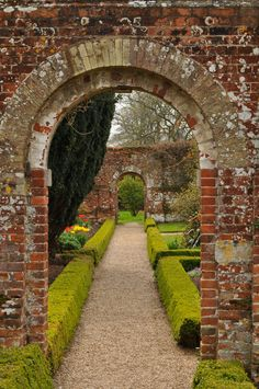 A garden you can really walk through instead of just look at. (And people to maintain it for me!)