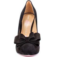 Amelie - Black Black Suede  Paris Hilton