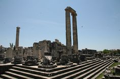 Longview on site of Temple of Apollo at #Didyma, #Turkey