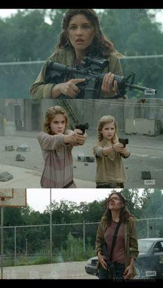 Really kinda proud of Carol's girls!