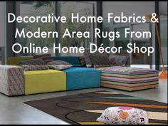 Wide collection of home fabrics like burlap, cotton, linen, canvas, chenille, lining, silk and texture for windows curtains, pillow covers, slipcovers and bedding sets style. Decorate your home with quality fabrics & modern area rugs like shag rugs, kids rugs, contemporary rugs, traditional Rugs and round rugs.