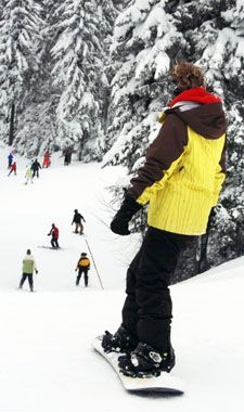 Hit the slopes in the Laurel Highlands! Seven Springs Mountain Resort is ranked as one of the top 5 U.S. snowboarding vacation locations.