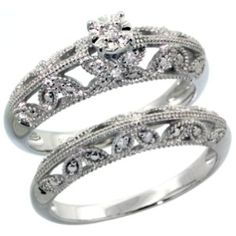 $235  Sterling Silver  0.112 Carats Diamonds   Sizes 5-6-7-8-9-10  RDIA202