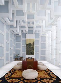 Beijing Tea House by Kengo Kuma and Associates, Beijing – China » Retail Design Blog