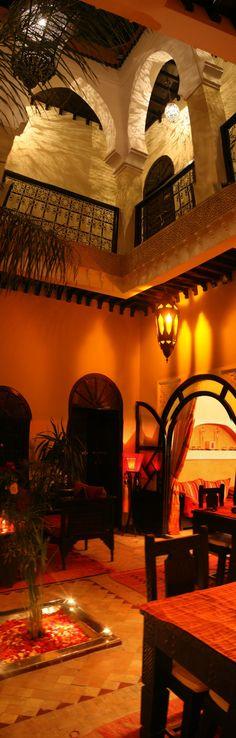 Patio of riad Jona  riad marrakech Maroc