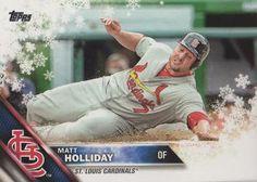 2016 Topps Holiday Baseball #HMW16 Matt Holliday Front