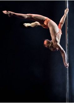 Successful pole dancers really are some of the most amazing and creative athletes! I've tried and it is freakin hard to do the basics! I think there should be pole dancing as well as ballet in the olympics!!!