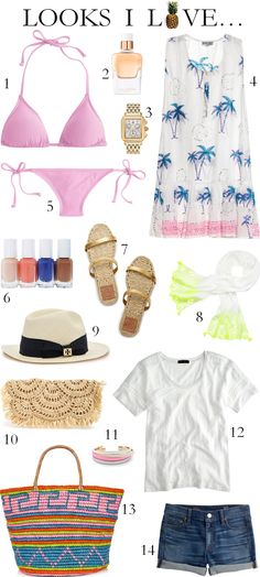 resort fashion for the beach | Beautifully Seaside